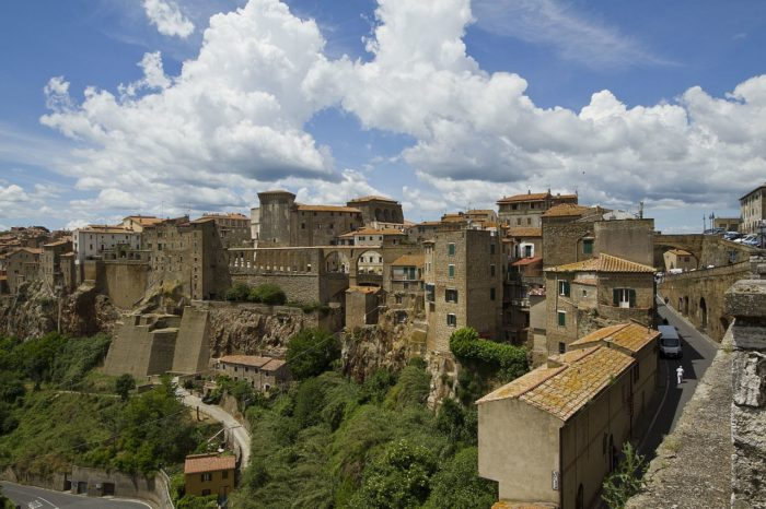 The tuff towns of the Maremma