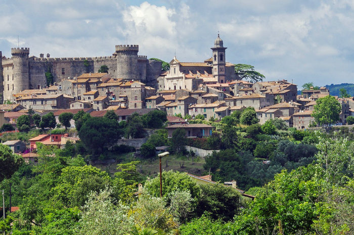The Roman countryside and the Lake of Bracciano