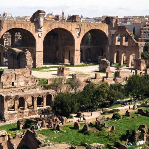 Basilica di Massenzio, Roma
