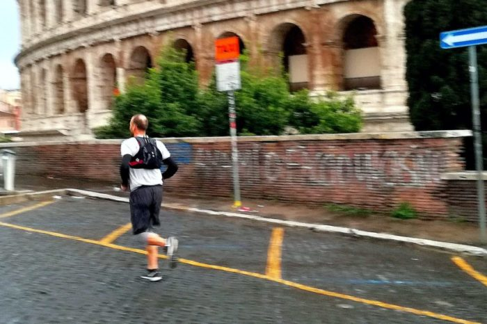 Running Rome ... at dawn
