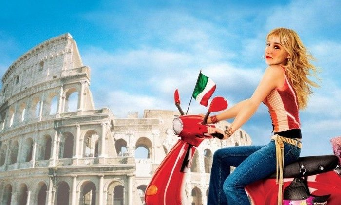 The Lizzie Mcguire's Tour in Rome