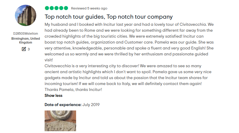 civitavecchia tours reviews_family group_private group_solo travelers_couples 4